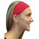 Red Spandex Fabric Headband