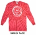Red Tie Dye Long Sleeve Shirt - in 6 Volleyball Designs