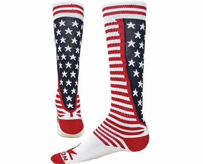 e1b125041f9 Stars   Stripes Red White and Blue USA Knee High Socks - Knee High Socks