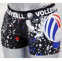 Red / White / Blue Volleyball Splat Flip Band Spandex