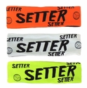 Setter Neon Spandex Headband w/ Black Lettering - in 6 Colors