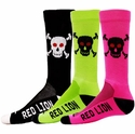 Skull & Cross Bones Crew Socks - 4 Color Options