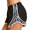 Soffe Black & Blue Pyramids Track Shorts