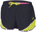 Soffe Black & Lime w/ Zebra Piping Running Shorts