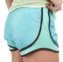 Soffe Blue & Aqua Shards Track Shorts