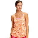 Soffe Dri Coral Obsession Racerback Tank Tops w/ Volleyball Print