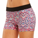 Soffe Dri Multi Color Chevron Spandex Shorts