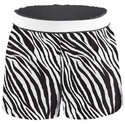 Soffe Zebra Stripe Shorts - Choice of 22 Sport Imprints on Rear