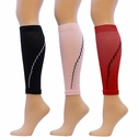 Colored Compression Leg Sleeves - 4 Color Options