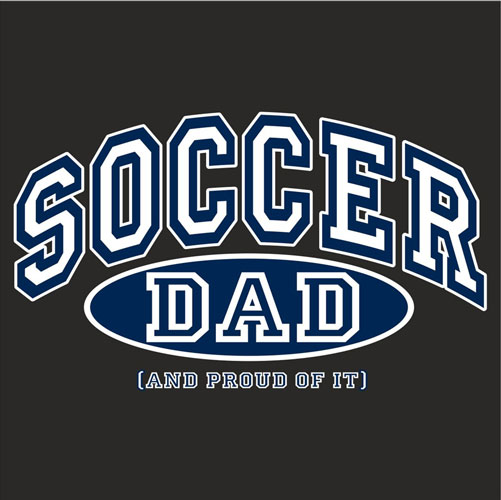 Sport Dad, Proud Of It Design Long Sleeve Shirt - in 4 Sports & 18 Shirt Colors