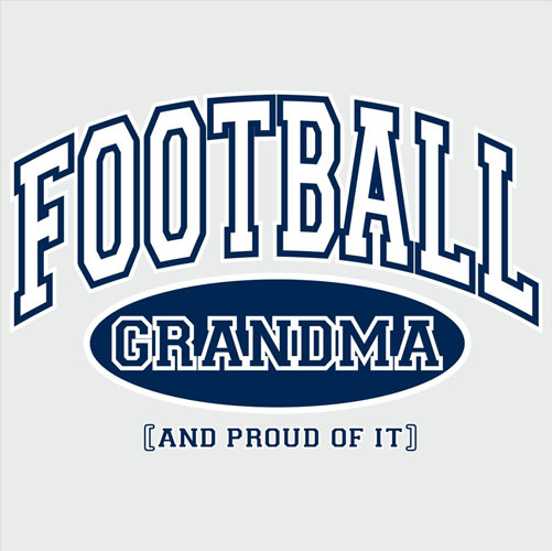 Sport Grandma, Proud Of It Design T-Shirt - in 4 Sports and 22 Shirt Colors