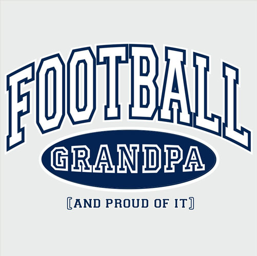 Sport Grandpa, Proud Of It Design T-Shirt - in 4 Sports and 22 Shirt Colors