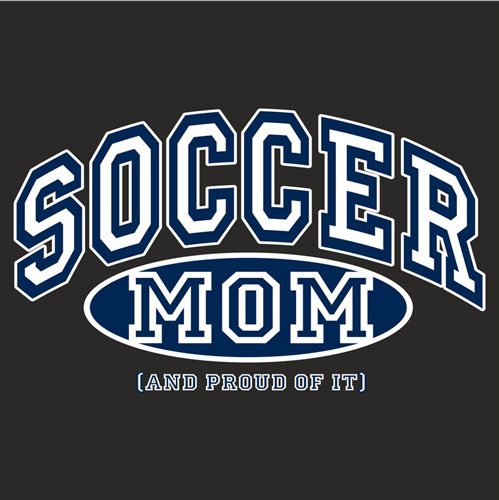 Sport Mom, Proud Of It Design Long Sleeve Shirt - in 4 Sports & 18 Shirt Colors