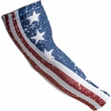 USA Flag Stars & Stripes Compression Arm Sleeve