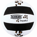 Tachikara Black Leopard Volleyball