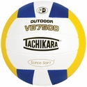 Tachikara Blue-White-Gold VB7500 Outdoor Volleyball