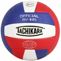 Tachikara Red-White-Blue SV-18S Volleyball