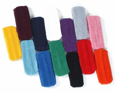 Terry Cloth Headbands - in Lots of Colors