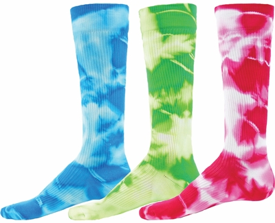 Tie Dye Sport Compression Socks - 5 Color Options