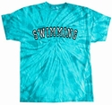 Sport Printed Design Tie-Dye T-Shirt in 22 Sports and 15 Shirt Colors