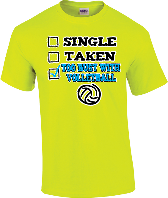 single taken or too busy with volleyball design short