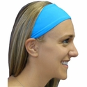 Turquoise Blue Spandex Fabric Headband