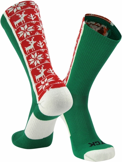 Ugly Sweater Holiday Crew Socks