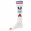 USA Letters & Stripes Valor Knee High Socks