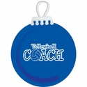 Volleyball Coach Tree Ornament - in 2 Colors