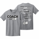 Volleyball Coachisms & Sayings Design Oxford Grey T-Shirt