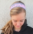 Glitter Volleyball Word Headbands - in Lots of Colors
