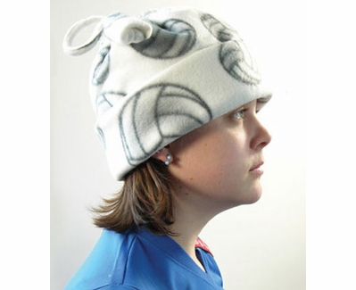 Volleyball Pattern Fleece Winter Caps - in Several Colors