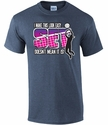SET Volleyball Design Heather Navy T-Shirt