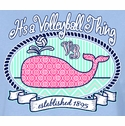 Volleyball Whale Design Light Blue T-Shirt