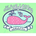 Volleyball Whale Design Mint Green T-Shirt