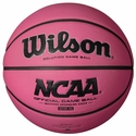 Wilson NCAA Pink Composite Replica Basketball
