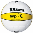 Wilson Official AVP Gold Beach Volleyball Game Balls
