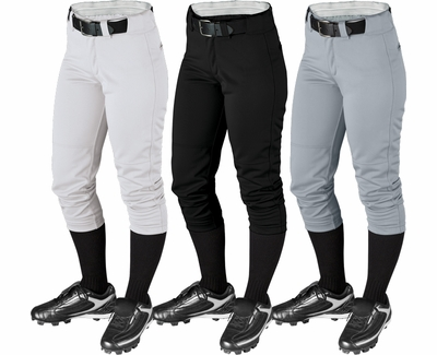 Wilson P700 Women's Low Rise Fastpitch Pant - in 3 Colors
