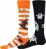 Witches & Ghosts Halloween Knee High Socks