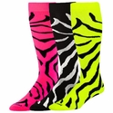 Zebra Stripe Over-Calf KraziSox - 7 Color Options