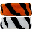Zebra / Tiger Stripe Bracelet / Wristband / Ponytail - in 2 Color Options