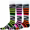 Zoo Striped Knee High Socks - 5 Color Options