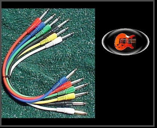 1 Set of Proline 1 Foot Patch Cables, straight