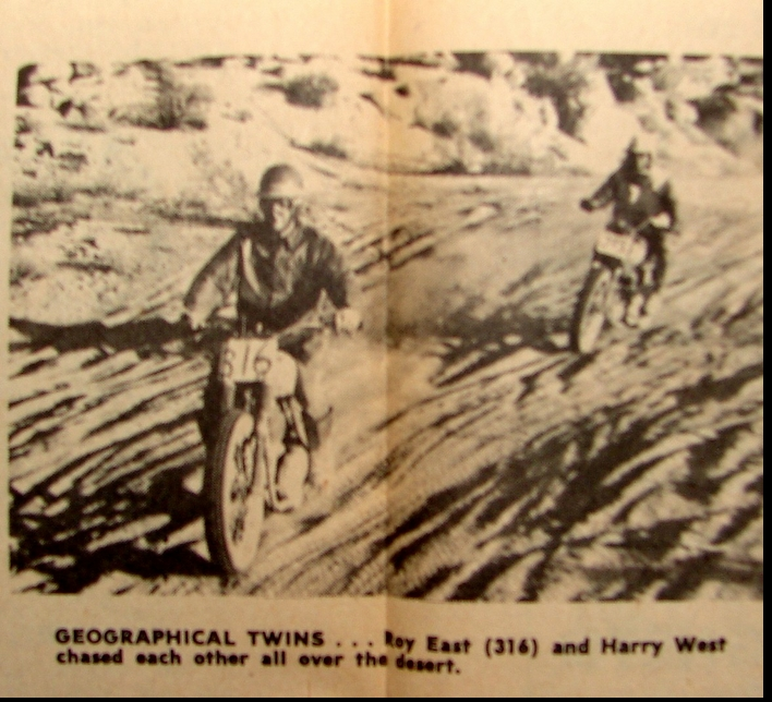 1961 BIG BEAR ROY EAST AND HARRY WEST