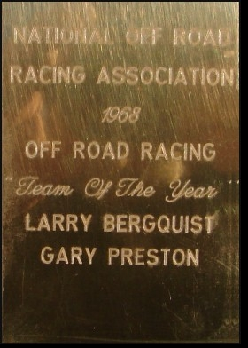 1968 TEAM OF THE YEAR