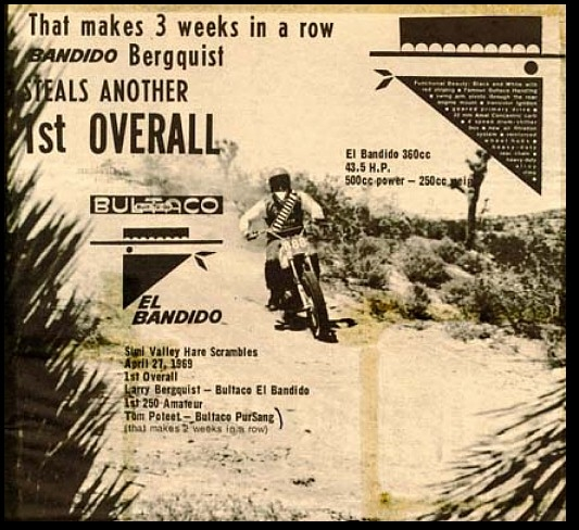 BULTACO EL BANDITO ADD