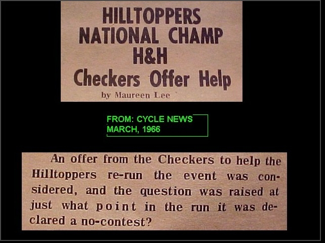 Checkers offer help