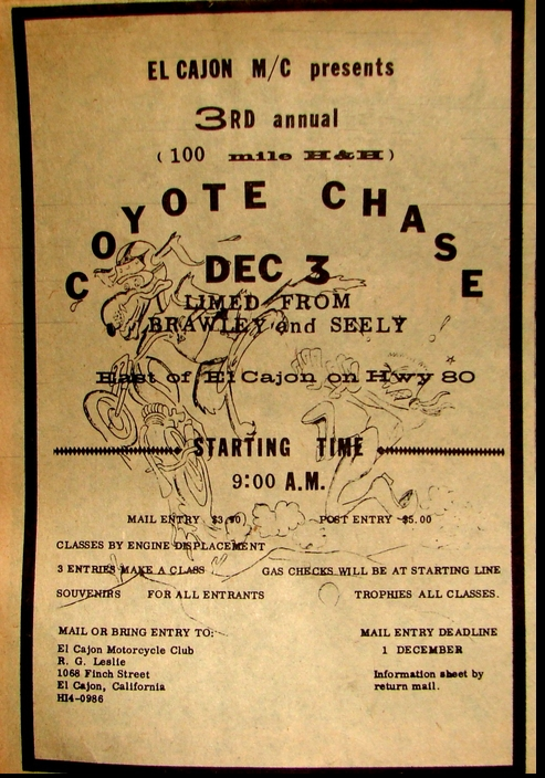 COYOTE CHASE 1961
