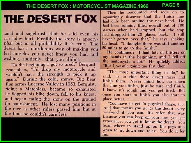 DESERT FOX  ARTICLE PAGE 5