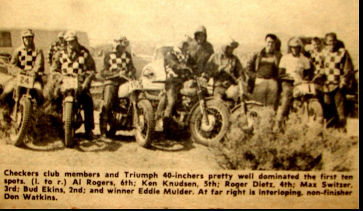 FOUR ACES MOOSE RUN NATIONAL CHAMPIONSHIP HH. 1962